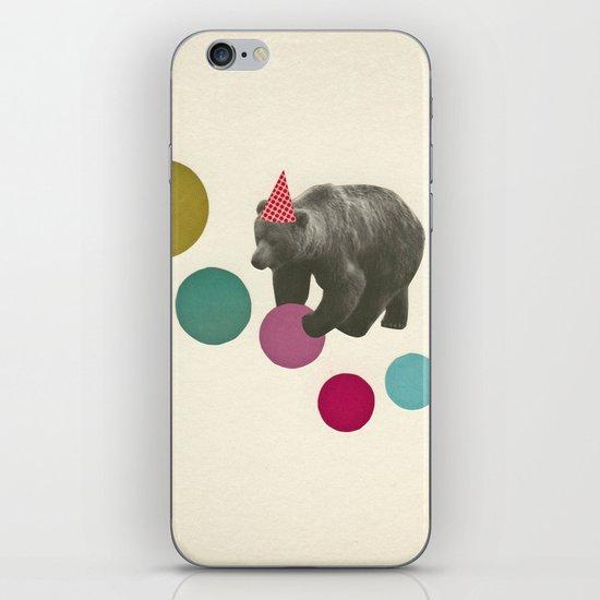 Birthday Bear iPhone & iPod Skin