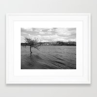 Framed Art Print featuring To Infinity by Amy Taylor
