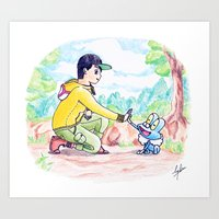 Journey To Be The Very B… Art Print