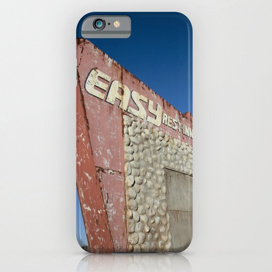 Easy Rest-Inn iPhone & iPod Case