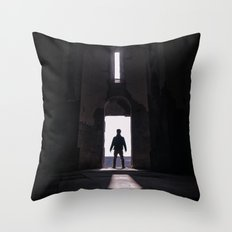 A new discovery Throw Pillow