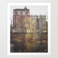 Central Park North Art Print
