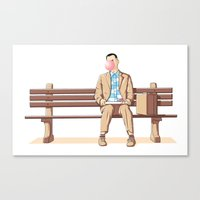 Bubble Gump Canvas Print