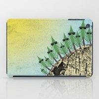 Sunning Trees Print iPad Case