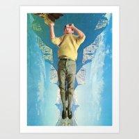Sea Saw Art Print