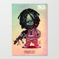Z gang - Babbler Sam - Villains of G universe  Canvas Print