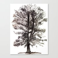 Canvas Print featuring TREE by One Pepinillo