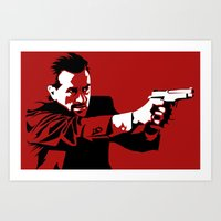 I Will Not Hesitate Art Print