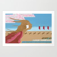 In The Wind Art Print