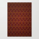 The Shining Pattern Canvas Print