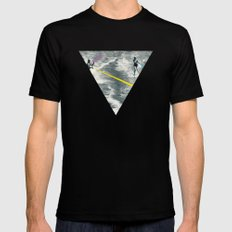Competitive Strategy SMALL Mens Fitted Tee Black