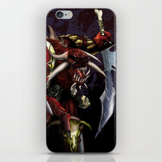 One Misunderstood Monster iPhone & iPod Skin