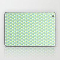 Teal And Yellow Pattern Laptop & iPad Skin