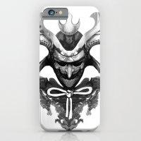 iPhone & iPod Case featuring Samurai XYZ by Bendragon