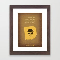Breaking Bad - Blood Money Framed Art Print