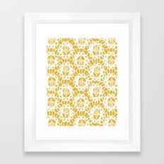 Bee Charmer Framed Art Print