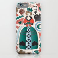 Queen of Spades iPhone 6 Slim Case