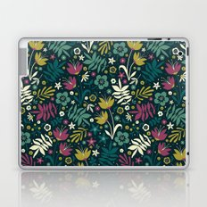 Midnight Florals (pop) Laptop & iPad Skin