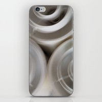 vintage blurry luminaries iPhone & iPod Skin