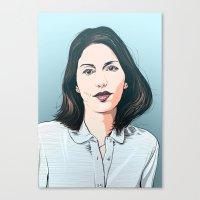 Sofia Coppola Canvas Print