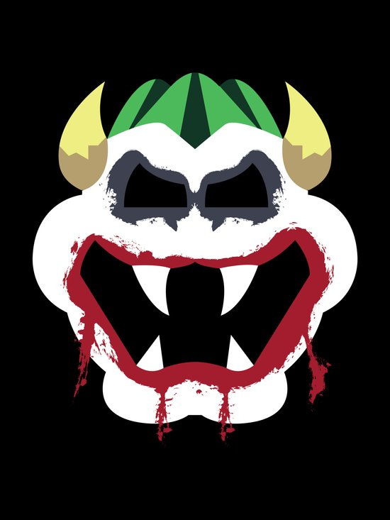 Joke's On You Bowser Art Print