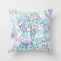Vibe Of The Jungle -G Throw Pillow