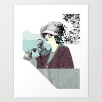Chance Cut Art Print