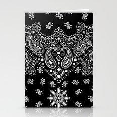 Black And White Bandana Stationery Cards