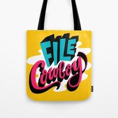 File Cowboy Tote Bag