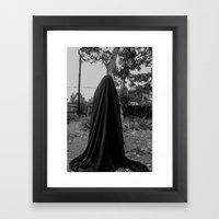 dark cloth 2 Framed Art Print