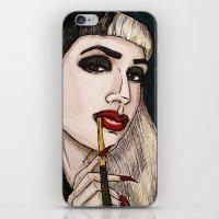Ashley Dzerigian in VOGUE 2 iPhone & iPod Skin