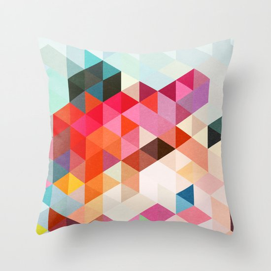 Heavy words 01. Throw Pillow