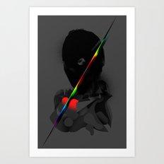 shakin Art Print