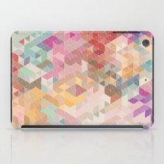 Soft Mini Triangles iPad Case