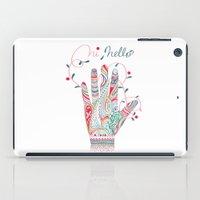 Hi helllo iPad Case