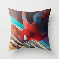 Hang Man Throw Pillow