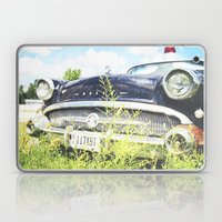 Cherries and Berries {Historic Cop Car} 1950's Buick  Laptop & iPad Skin