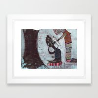Present Framed Art Print