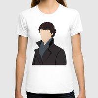sherlock T-shirts featuring Sherlock by Jessica Slater Design & Illustration