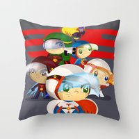 G force Throw Pillow