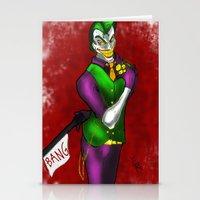 Joker - Joke's on You - 2012 Stationery Cards