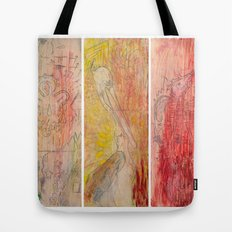 The Unborn, The Living, The Dead Tote Bag
