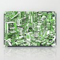 City Machine - Green iPad Case