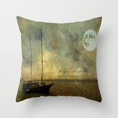 A ship 2 Throw Pillow