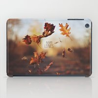 Autumn Leaves As Quickly… iPad Case