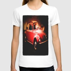 Bugs  Womens Fitted Tee White SMALL