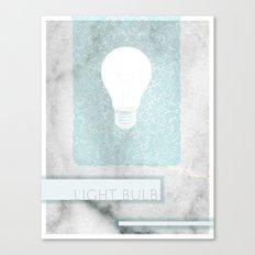 LIGHTBULB Canvas Print