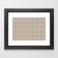 Missy Leopard Framed Art Print