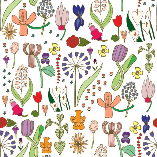 We belong among the wildflowers. Art Print