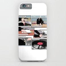 Records Worth Slim Case iPhone 6s